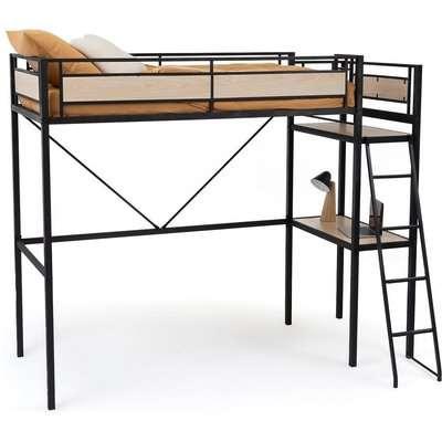 Hiba High Bunk Bed with Mini Desk