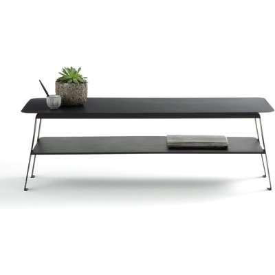 Hiba Two-Tier Metal Coffee Table