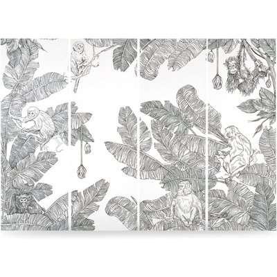 Iquitos Panoramic Jungle Wallpaper Panels, 3.5m
