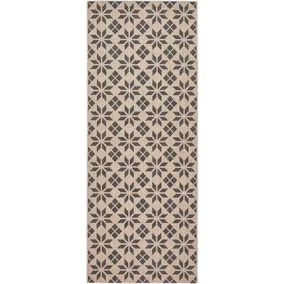 Iswik Cement Tile Runner Rug