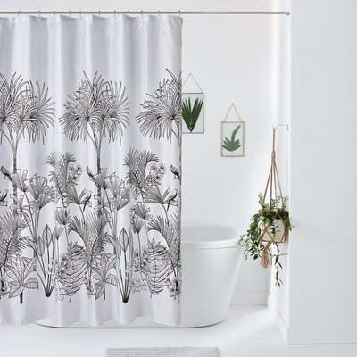 Jalapao Patterned Shower Curtain