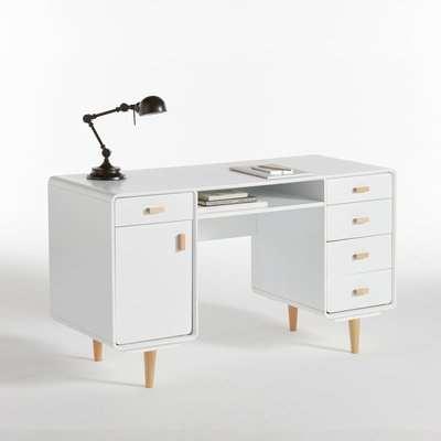 Jimi Double Storage Desk