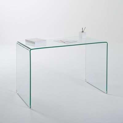 Joan Tempered Glass Console Desk