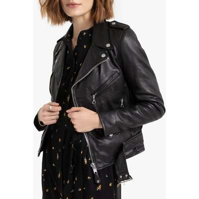 LCW8600 Leather Biker Jacket with Pockets