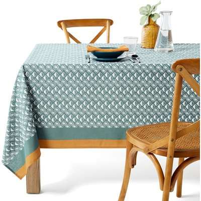 Lodge Stain-Resistant Patterned Tablecloth