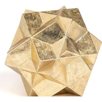 Lympo Polyhedron Sculpture in Polyresin