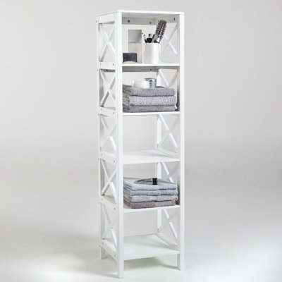 Majong 6-Shelf Bathroom Storage Unit