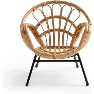MALU Vintage-Style Child's Rattan Armchair