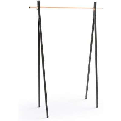 Metal and Copper Clothes Rack