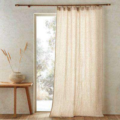 Minoe Cotton / Linen Single Voile Panel