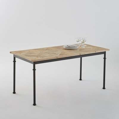 Mosaïque Inlaid Dining Table (Seats 6)