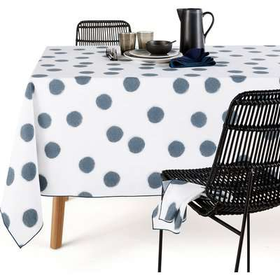 Myoko Washed Cotton Patterned Tablecloth