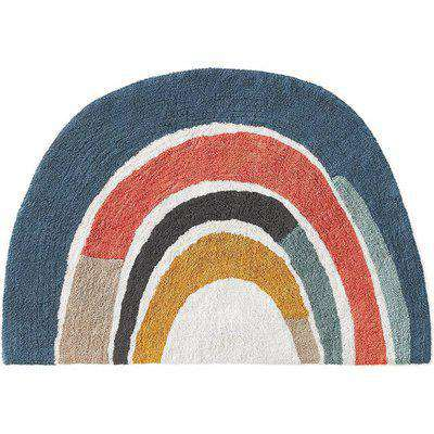 Niji Large Kids Cotton Rainbow Rug