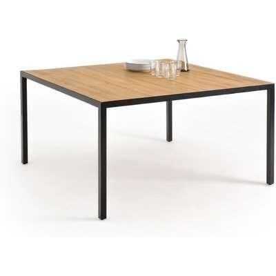 Nova Square Oak Dining Table, Seats 8