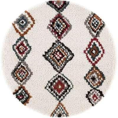Nuria Berber-Style Round Rug