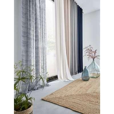 Odorie Linen / Viscose Blackout Curtain