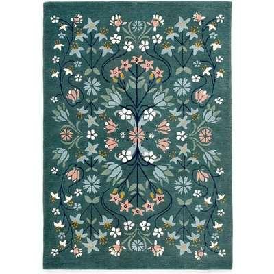 Pilar Floral Wool Rug
