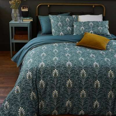 Poetic Cottage Duvet Cover in Cotton Percale