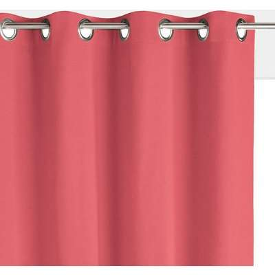 Scenario Cotton Single Lined Blackout Curtain with Eyelets