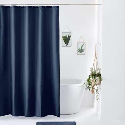 Scenario Plain Shower Curtain