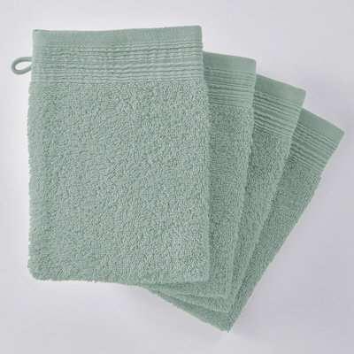 Set of 2 Scenario Organic Cotton Hand Towels
