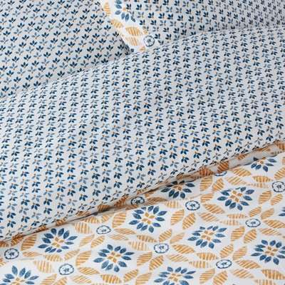 Soleme Cotton Percale Duvet Cover