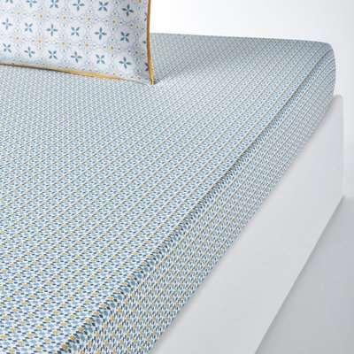 Teyben Floral Cotton Percale Duvet Cover