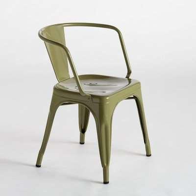 Tolix Solid Steel Armchair