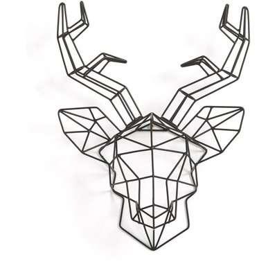 Ugoya Deer's Head Sculpture