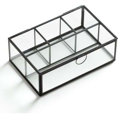 Uyova Multi-Compartment Glass Trinket Box