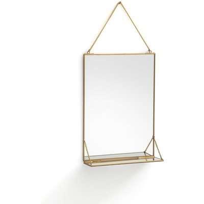 Uyova Rectangular Mirror with Shelf