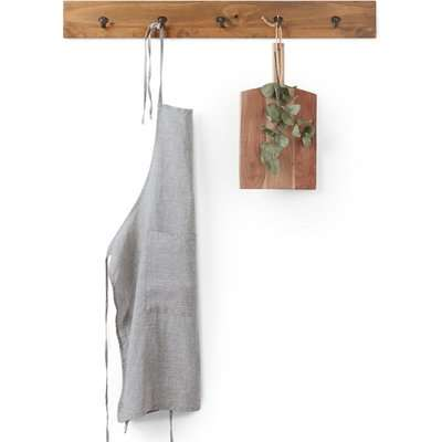 Victorine Washed Linen Chambray Apron