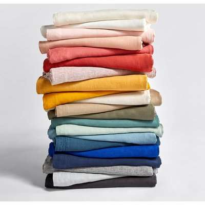 Washed Linen Plain Duvet Cover