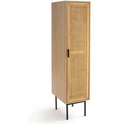 Waska Single Wardrobe with Cane Door