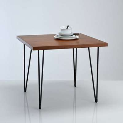 Watford Vintage Style Square Dining Table