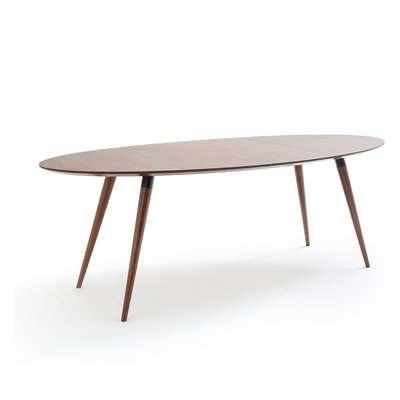 Watford Walnut Elliptical Dining Table (Seats 6-8)