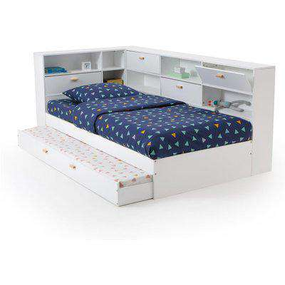Yann Bed with Trundle and Storage