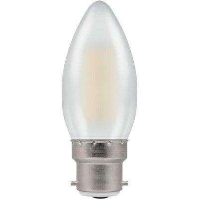 Crompton LED Candle BC B22 Filament Pearl 4W 2700K - Warm White
