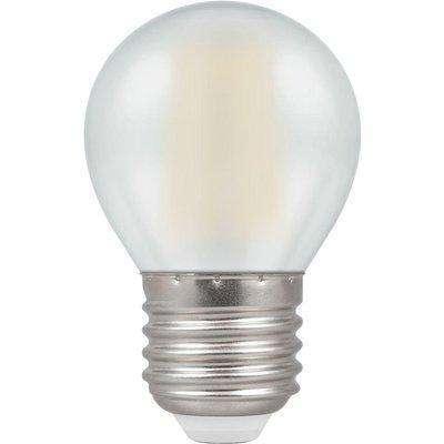Crompton LED Round ES E27 Filament Pearl 4W - Warm White