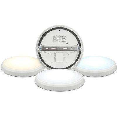 Crompton Phoebe LED - Melana Colour Change 300mm Round Ceiling Light CCT EM