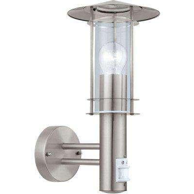 EGLO ES/E27 Outdoor Wall Light IP44 PIR Sensor - 30185