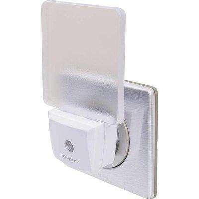 Integral 0.6W Auto Sensor Euro 2 Pin Plug Night Light Cool White - 982892