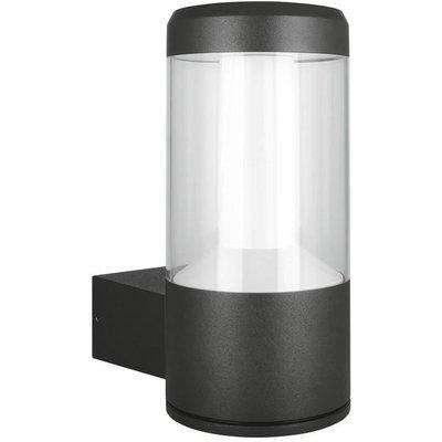 Ledvance 12W LED Outdoor Facade Lantern Grey IP54 Warm White - OFL30A-074835
