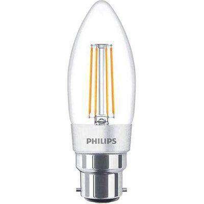 Philips 2W LEDCandle B22 BC Candle Very Warm White - 76690300