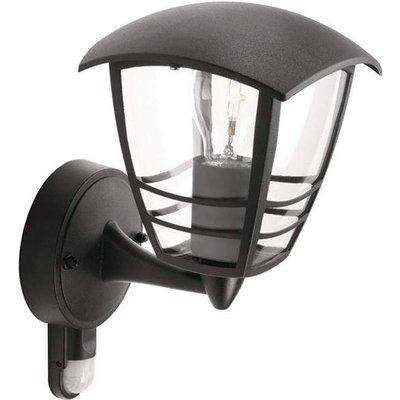 Philips Luminaire Creek wall lantern black 1x60W 230V - 915002791102