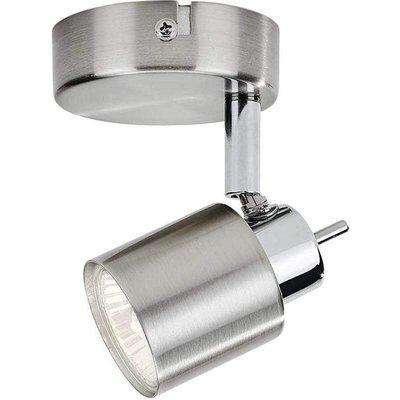 Philips Meranti GU10 Lamp Wall/Ceiling Spotlight Matt Chrome - 915005222101