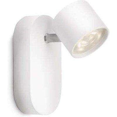 Philips Star Single Spot LED Wall Light SELV White - 562403116