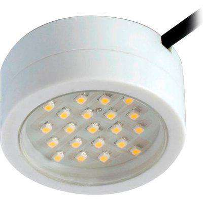 Robus Captain 2W LED Mains Voltage Cabinet Light - Cool White - White - R2CLED240CW-01