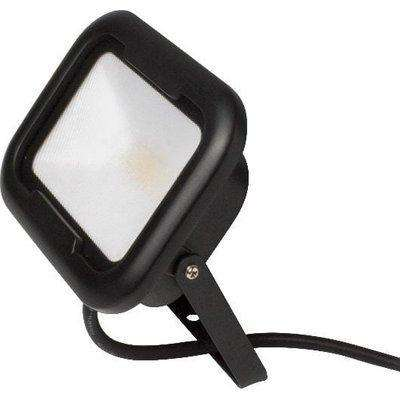 Robus Remy Black 20W LED Flood Light with Junction Box - Warm White