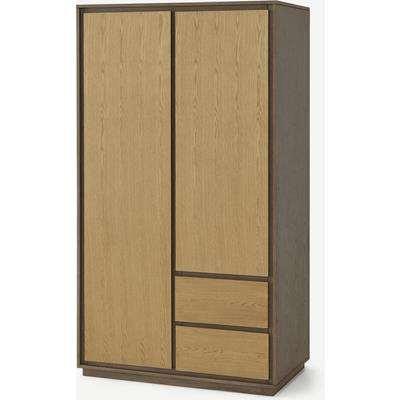 Arbery Double Wardrobe, Oak Veneer